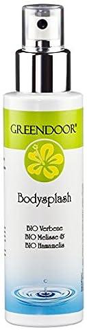 Greendoor Body Splash, Deospray 100ml, Deo ohne Aluminium aus der