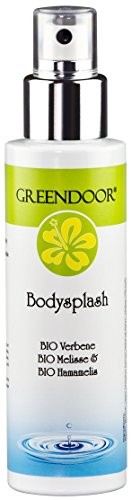 Greendoor Body Splash, Desodorante 100ml, Desodorante sin Aluminio de la Cosmética natural Manufactory