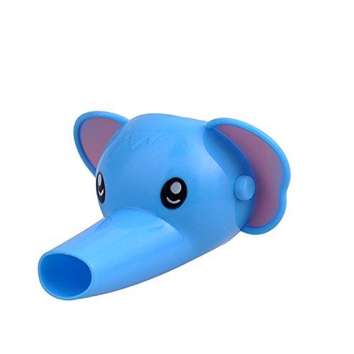 Grifo Alargador para Niños Grifo Extender para Ayudar Infantil Lavar Manos Facil Estilo de Elefante