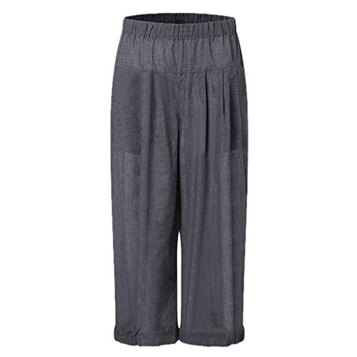 Geilisungren Bombacho clásico Design Boyfriend Aladin Harem Pantalón de Yoga Algodón Suave Piernas...