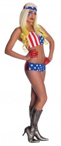 Lady Gaga Amerika-Kostüm für Damen