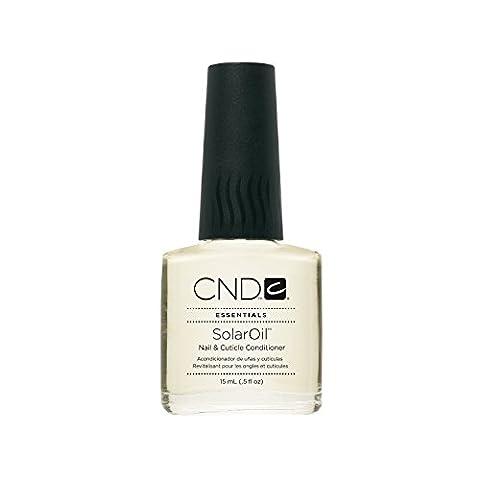 CND Traitement Huile Solaire Revitalisant pour ongles et cuticules 15 ml