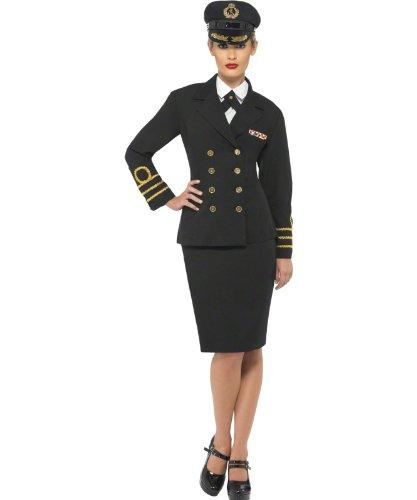 Marine Offizier - weiblich - Erwachsene Kostüm
