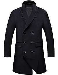 Luxusmode Großbritannien populärer Stil Suchergebnis auf Amazon.de für: schwarzer mantel herren ...