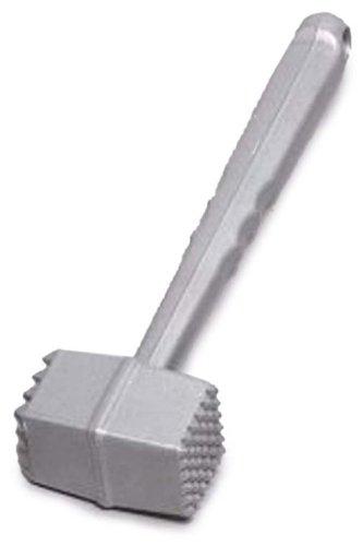 Westmark 62102260 Fleischhammer, Länge: 21,5 cm, Aluminium-Druckguss, Rostfrei, Robusto, Silber