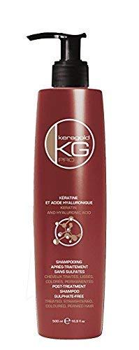 KERAGOLD PRO DD Shampoing sans Sulfate à la Kératine/Acide Hyaluronique 500 ml - Lot de...