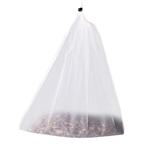 BESTONZON Tee Filtertüten Wiederverwendbare Mesh Teesieb Taschen für Loose Leaf Tee (Kleine Größe)