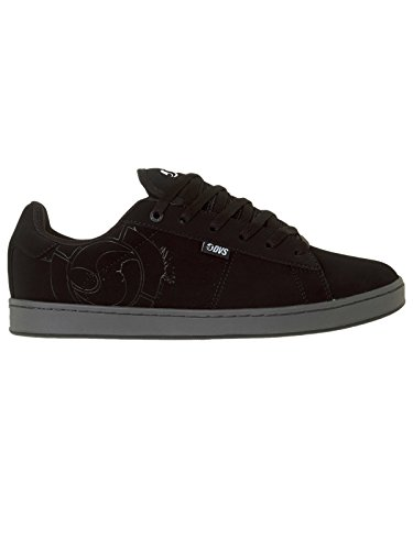 DVS APPAREL Revival 2, Chaussures de Skateboard Homme Black Leather Nubuck Anderson