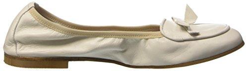 1960Travel Damen 21565 Ballerinas Bianco Sporco (Panna)