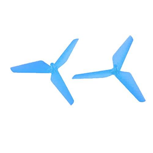 55mm Klee Propeller Ersatzteile für Syma X5C Jjrc H5C RC Drohne Quadcopter - Blau, 55mm/2.17 Zoll