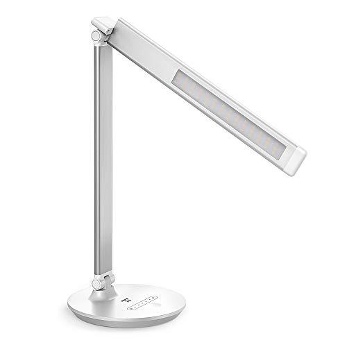 QualitäT Flexible 14 Leds Schreibtisch Lampe Usb Lade Lesen Lichter Touch Sensor Dimmbare Lesen Studie 3 Modus Weiß Nacht Licht Tisch Lampen üBerlegene In