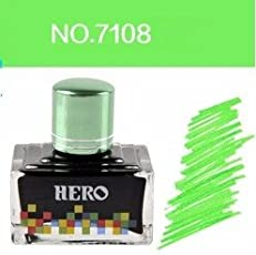 Success Stationery Hero Fountain Pen Extra Colour Noncarbon Nonblocking ink - 7108