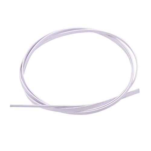 SUPVOX Gitarrenbindung Weiß für klassische Akustikgitarre und Ukulele 1mm