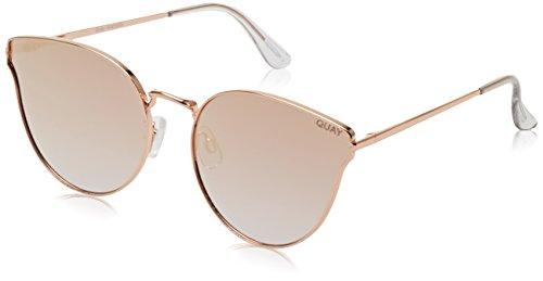 Quay Eyewear Damen Sonnenbrille All MY Love, Rose/Pink, 140