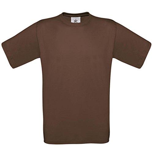 B & C Collection, Exact 190, BA190, T-Shirt Braun - Chocolate