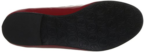 Yep Anne Marie, Mocassins fille Rouge (Vernis Rouge)