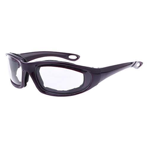 LANDUM Gafas Seguridad Cortar Las cebollas Gafas Protectoras