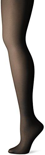 Nylon Opake Leggings (Just My Size Damen Leggings, Jet Black, 3X)