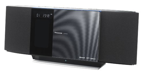 Panasonic SC-HC40EG-K Kompaktanlage (iPod/iPhone Dock, USB) schwarz