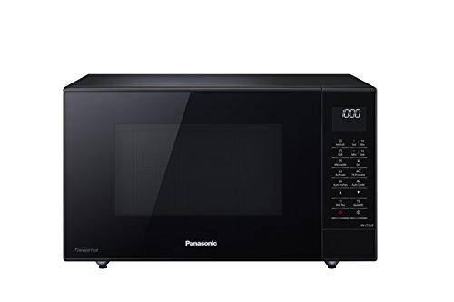 Panasonic NN-CT56 Mikrowelle (1000 Watt, mit Grill und Heißluft, Inverter Mikrowelle, 27 Liter, geringe Bautiefe) schwarz