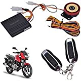 SHOP4U Anti-Theft Security System Alarm with Remote for Bajaj Pulsar
