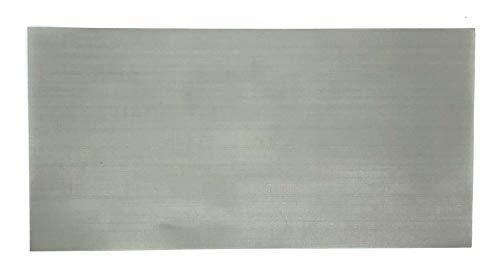 Edelstahlsieb Mesh | 400 34my | ESS | Edelstahlsiebgewebe | Stainless Steel Mesh | Sieb Filter | 200mm x 100mm (400 Mesh Edelstahl)