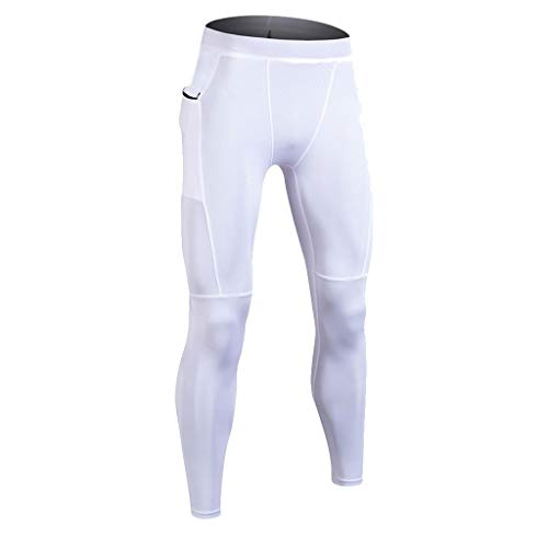 Lands End Jungen Shorts (SANFASHION Männer Jungen Fussball Winter Skinny Lange Unterhose Unterwäsche Warme Strumpfhose Herren Sport Kompressions Leggings Pants Hosen)