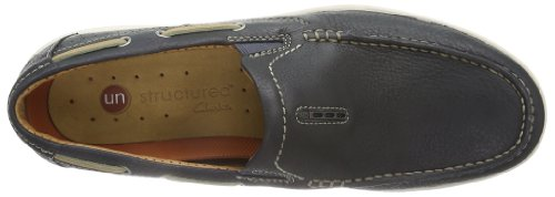 Clarks  Unnautical Bay, Brogue homme Bleu - Blau (Blau)