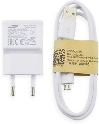 MicroSpareparts Mobile Samsung Galaxy S5 Mini EU Standard Travel Adapter, MSPP73497 (Standard Travel Adapter ETA0U83EWE and Micro USB Data Cable White) Samsung Travel Adapter