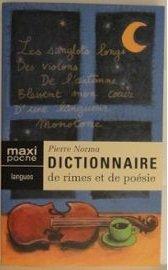 Dictionnaire des Rimes et Poesie