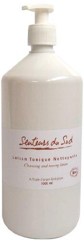 Senteurs du Sud - Lotion Tonique Hydratante à l'Huile d'Argan Biologique - 1000 ml