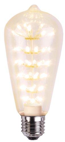 Best Season Decoline Decoration LED, E27, 2100 K, 280 lm, klar, Lantern 14.5 x 6 cm, 230 V / 3 W / 1-Stück auf Karte 363-51
