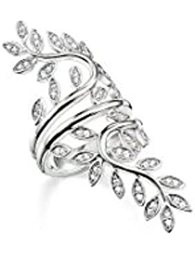 THOMAS SABO Damen-Ring 925er Silber Zirkonia TR2018-051-14-52
