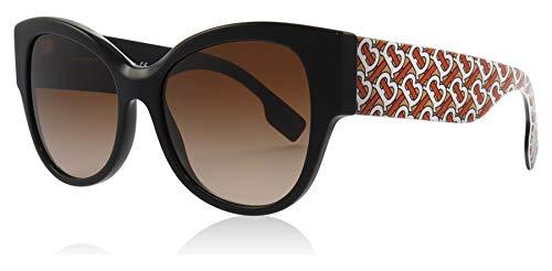 BURBERRY Sonnenbrillen B HER BE 4294 Black RED/Brown Shaded Damenbrillen