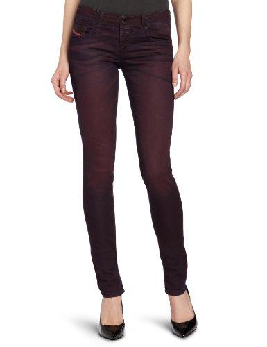 Diesel - Jeans - Femme Burgundy