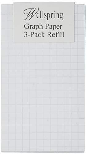 Wellspring Flip Note 2205 Nachfüllblock, kariert, 3 Stück
