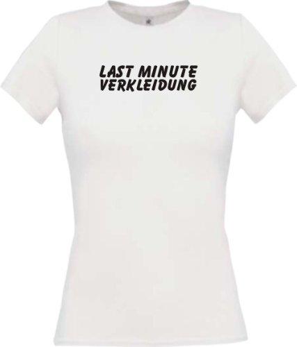 Last Minute Kostüm Fasching Kostüm Verkleidung, Farbe weiss, Größe XL (Last Minute Kostüme Frauen)