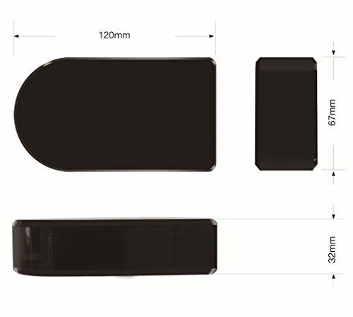 V2.0 *WELTNEUHEIT* Wi-Fi Black-Box mobile Mini-WLAN-Kamera mit 180° horizontal drehbarer Linse per App aus der Ferne/ BABY MONITOR / Full-HD Mini-IP-Netzwerk-Kamera mit MicroSD-Speicher bis 256 GB / Zugriff per Smartphone und Tablet / Mini-WLAN- Cam mit Bewegungserkennung. Marke: BriReTec® - 6