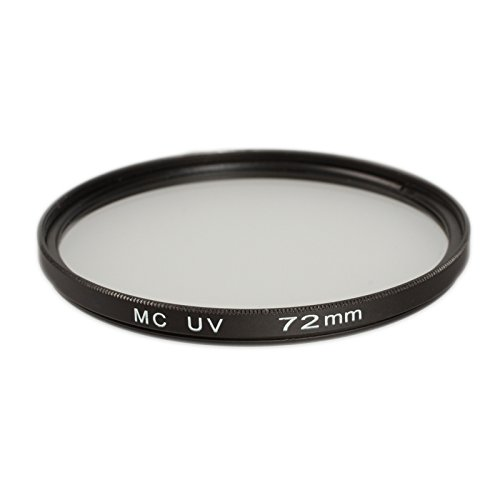 Ares Foto® Filtro di protezione UV 72mm (multicoated) per Nikon AF Nikkor 180 mm 1:2,8D IF-ED