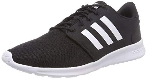 adidas Qt Racer, Zapatillas para Mujer, Negro (Core BlackFootwear WhiteCarbon 0), 44 EU