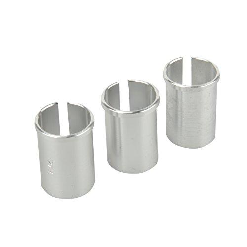 FISCHER Sattelstützen 3X Reduzierhülsen-Set, Silber, One Size