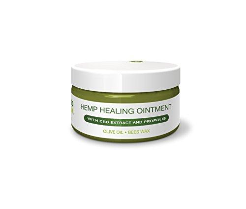 Universal Hanf-SALBE von HEMP 4 HELP Bestseller mit BIO-HANF, CBD Extrakt und PROPOLIS | 100 ml | für die intensive Haut-Pflege als Körper Wund-Heil Salbe