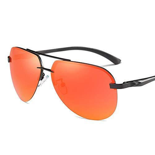 WULE-RYP Polarisierte Sonnenbrille mit UV-Schutz Männer und Frauen Klassische polarisierte Sonnenbrillen, Brille Sport Eyewear Angeln Golf Goggles. Superleichtes Rahmen-Fischen, das Golf fährt