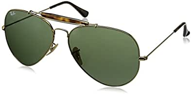 3dd5d586904 Ray-Ban UV Protected Aviator Men s Sunglasses - (0RB302918162