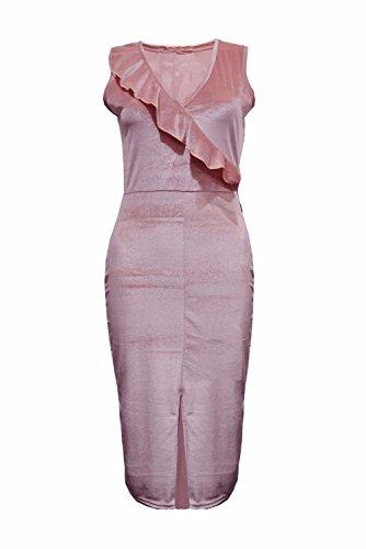 Janisramone - Robe - Sans Manche - Femme * taille unique Rose