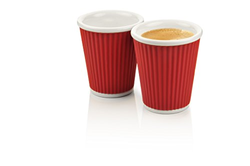 les-artistes-paris-porcelain-silicon-mug-2-pieces-180-ml-crimson