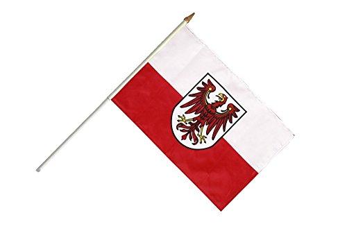 Stockflagge / Stockfahne Italien Südtirol + gratis Sticker, Flaggenfritze®