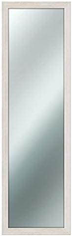 Specchio da parete MIRROR SHABBY CHIC 40X125 cm colore Beige Avorio