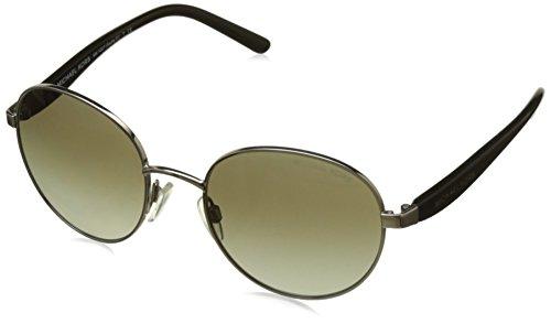 Michael Kors Unisex MK1007 Sadie III Sonnenbrille, Silber (Silver 10018E), One size (Herstellergröße: 52)