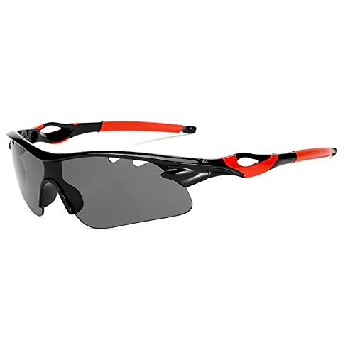 L.J.JZDY Skibrille Sport-Sonnenbrillen Outdoor-Männer und Frauen, die Winddichte Sand-Sonnenbrillen reiten Explosionssichere Sonnenbrillen Brille (Color : 6, UnitCount : 2PCS)
